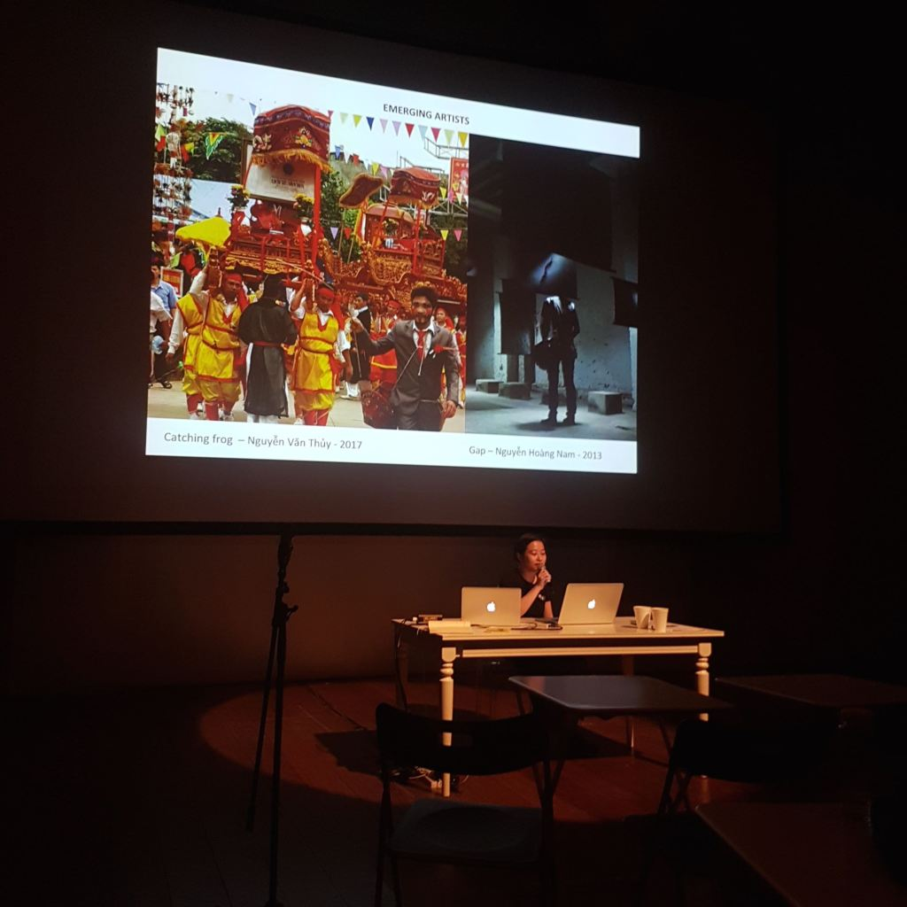 Truong Que Chi 's presentation at TheatreWorks Singapore